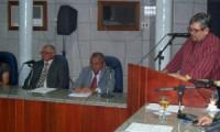 Rubens Alencar vai a Câmara e fala sobre ações da Fundação Raul Alencar.