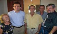 Deputado Eliseu Aguiar visita interior de Valença.