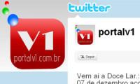 Portalv1 agora no twitter. Crie sua conta.
