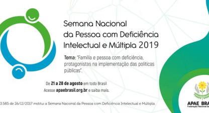 APAE de Valença abrirá semana nacional com caminhada nesta 4ª feira