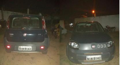 Criminosos abandonam veículo, após roubo na PI 120 de Novo Oriente