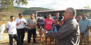 Evento em Novo Oriente comemora os 20 anos do Pastor Sebastião Pereira