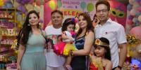 Veja as fotos do aniversário do empresário Carlos José e da neta Helena