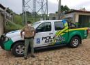 Policia Militar de Francinópolis recebe nova viatura. Fotos