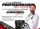 FJ Pneus oferece alinhamento grátis para profissionais da saúde