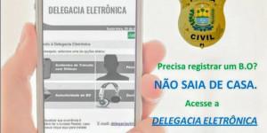 Veja como acionar a Delegacia Virtual para registrar B.O e outros serviços