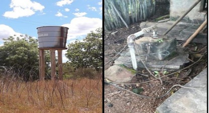 Moradores de comunidade Oiticica sofrem com falta de água em plena pandemia.