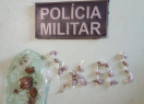 Menores são presos com drogas em Francinópolis durante barreira policial