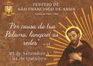Festejo de São Francisco de Assis começa dia 25 em Valença