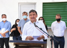 Wellington Dias inaugura praça e autoriza reforma de escolas em Curimatá