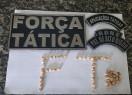Força Tática prende suspeita de tráfico em Valença