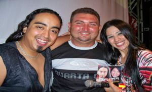 Elvis Morales, Jordenilson Moura e Nineia Oliveira