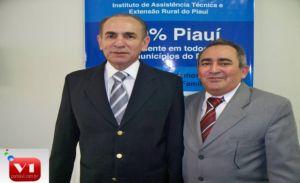 Dep. Marcelo Castro e Francisco Guedes presidente do Emater
