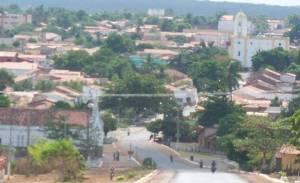 Vista da cidade de Valença