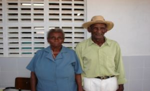 casal Feliciano e Antônia, ícones da comunidade Tranqueira