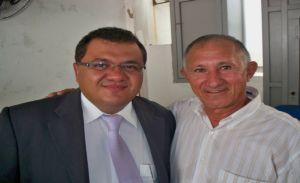 Sec. Luciano Paes Landim e Manoel Ramos presdiente da APCDEP