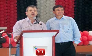 Senador João Vicente e o governador Wellington Dias