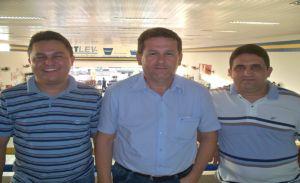 Gilson, Edivaldo Dantas e Paulinho