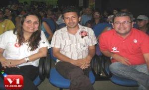 Dep. Flora Isabel, Wallyson Soares e Geovane Vieira
