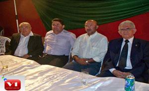 Francisco Santos, Edson Vieira, Warton Santos e Rubens Alencar
