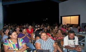A palestra foi ministrada pelo professor e historiador Antônio José