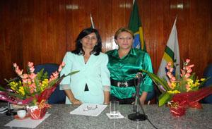 Vereadoras Ceiça Dias e Ielva Melão