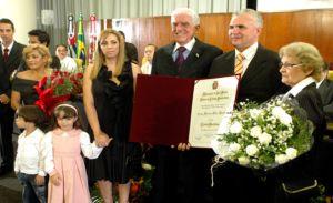 A solenidade aconteceu na Câmara de São Paulo