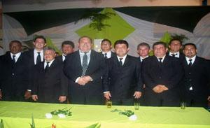 A festa bastante concorrida foi realizada no Crovapi