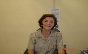 secretária de educação Dolores Matias