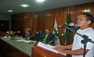 presidente do SINDSERV, Antônio Carlos