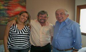 Liduina, Rubens Alencar e o deputado Paes Landim