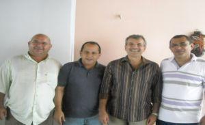 Joaquim Filho, dep Hélio Isaias, JVC e o ex-prefeito de Elesbão Ronaldo