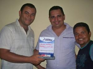 Sérgio Alves, Israel Gilliarde e Railson Lima (Rarrá)