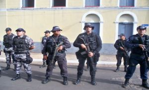 Policiais do 4ª BPM