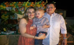 O aniversário foi realizado na Fazenda São José em Pimenteiras