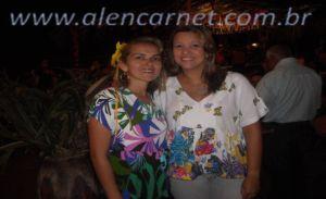Elizabete Moura e Liana Pimentel.