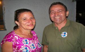 Dorismar Martins e o seu vice Balduino Dantas