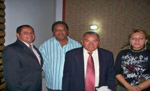 Vereadores Gilmar Barbosa, Valdefran Vieira, Eliseu França e Ielva Melão.