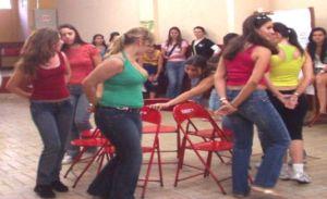 Dança das cadeiras em Valença
