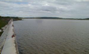 Vista da Barragem Mesa de Pedra