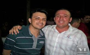 empresarios Gracielio e Indelson Melão