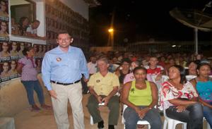 Marllos Sampaio se reuni com eleitores
