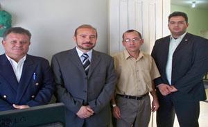 Dr. Mauro, Agrimar, Edesio e Marqui Neiva