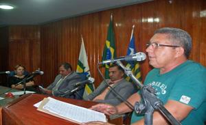 secretário de obras Antônio Gomes