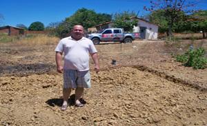 Vereador Joaquim Filho no local onde funcionará a torre