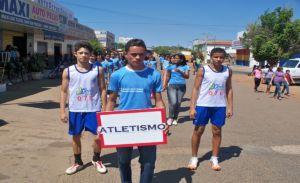 os atleta Carlos Vitor e Marcelo Mateus irão representar o estado nas Olimpíadas Escolares 2010