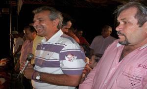 João Vicente e Rubens Alencar
