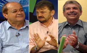 Silvo Mendes, Wilson Martins e João Vicente