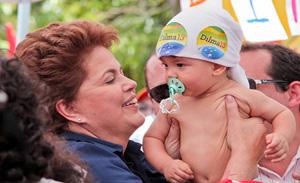 Dilma fará campanha nesta quarta-feira em Teresina
