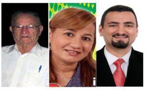Zé Belo, Dona Ivente e Jofran são os três candidatos que concorrem à Prefeitura de Dom Expedito Lopes